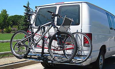 Recumbent and tandem bike racks