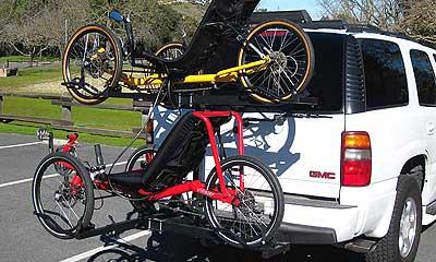 Hitch Rider Racks Bike Racks Trike Carriers And No