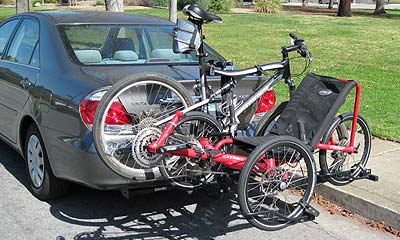 Trike and bike racks